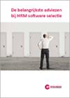 De belangrijkste adviezen bij HRM software selectie